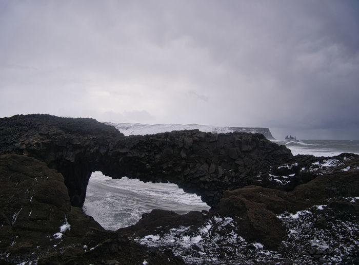 View through a