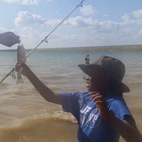FishingWithMySON HeWasScared Countryshit SundayFunday WeCampedOut HadABlast WishYouWereHere WeMissYouMomma