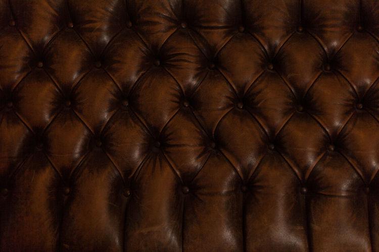 Full Frame Shot Of Old Sofa