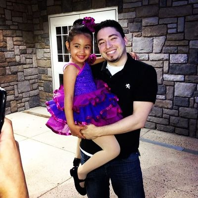 Me and Bella after here dance recital. She did great!