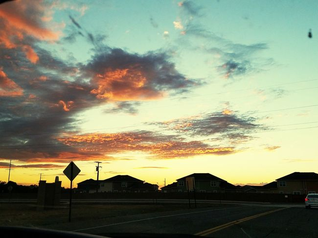 It's good to be back in the Land of Enchantment New Mexico Clovis  Land Of Enchantment Sunset