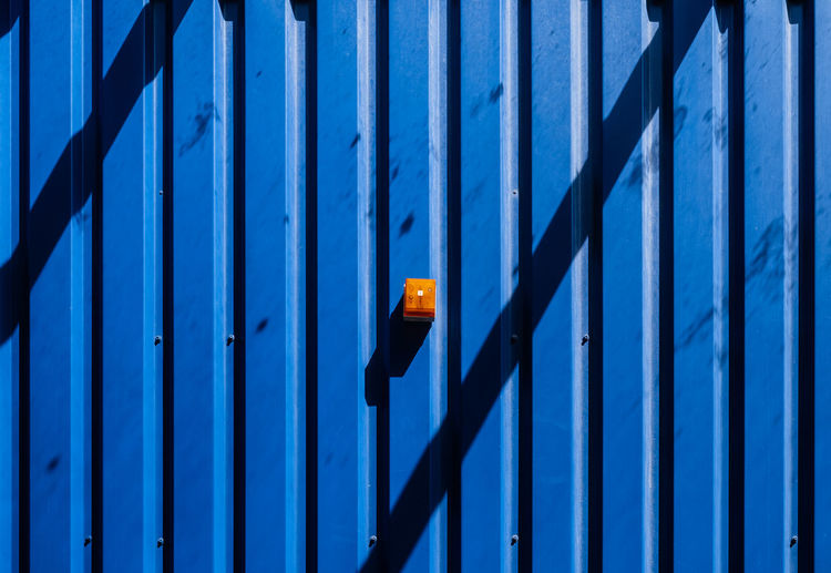 Bluemonday Pattern Pieces Pattern, Texture, Shape And Form Architecture Backgrounds Blue Blue Monday Bluemonday Built Structure Fujix_berlin Fujixe3 Fujixseries Metal Minimalism Minimalist Photography  Minimalistic Outdoors Pattern Ralfpollack_fotografie Security Shadow Wall - Building Feature