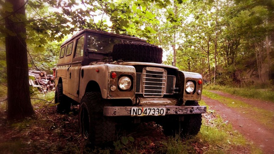 Old LandRovrr left to die :( First Eyeem Photo