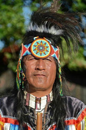 Photos Around You Native American Indian Portrait Gironde France Portraits Indien Amerique