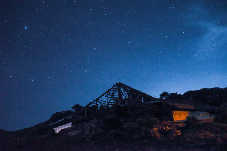 Night View at Abandoned Resort Architecture Astronomy Galaxy Nature Night No People Outdoors Sky Eyeem Philippines EyeEm Nature Lover Nature Photography Star - Space The Great Outdoors - 2017 EyeEm Awards