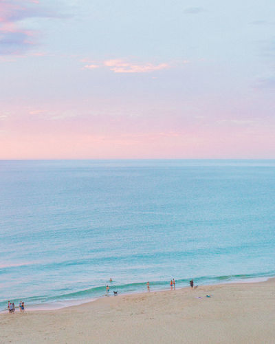 Fluffy Little Clouds Australia Beach Life Coastline Pastel Power South Australia Beach Beauty In Nature Clouds And Sky Day Dusk Horizon Over Water Nature Outdoors Pastel Sand Scenics Sea Sky Sunset Tranquil Scene Tranquility Water The Great Outdoors - 2018 EyeEm Awards
