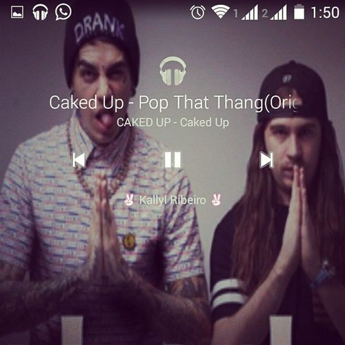To mais viciado que drogado em crack! CadekUp PopThatThang Printscreen Player Music Live MusicPlayer Remix