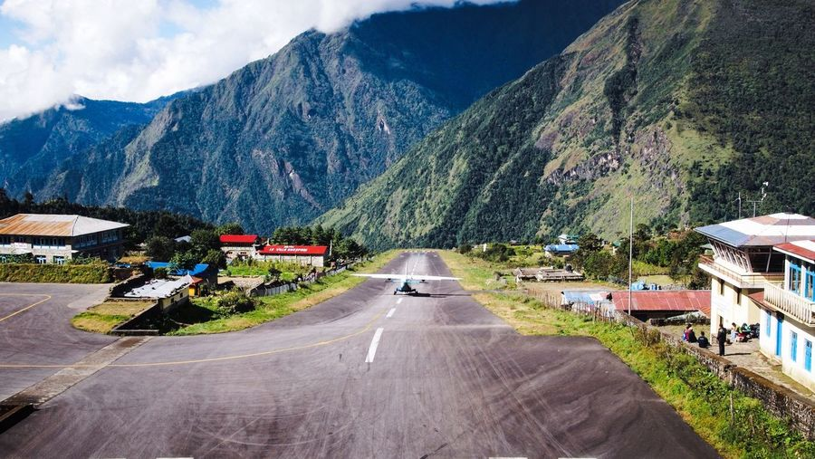 Airport Lukla Trekking in Nepal