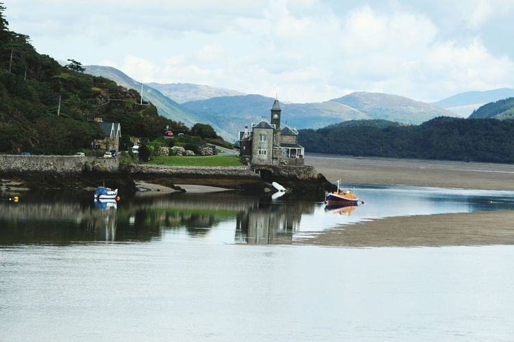 Barmouth Beach Water Reflections Snowdonia Beachphotography Fairy Tale Taking Photos Check This Out