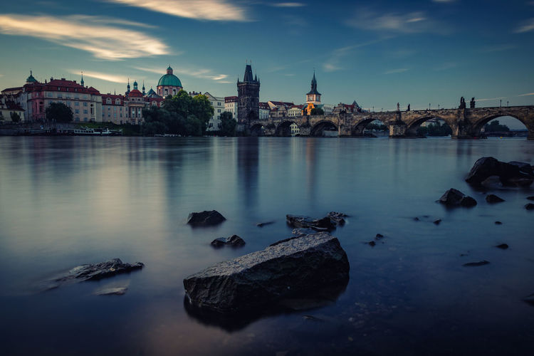 Prague Charles Bridge Hanging Out Taking Photos Check This Out Travel Photography Traveling Prague Praha Long Exposure Sunrise Morning Light Bridge Tschechien Czech Republic Moldova Moldau Stones Riverside Cityscapes Landscape City From My Point Of View Enjoying Life Mystyle Eyeemphotography Architecture