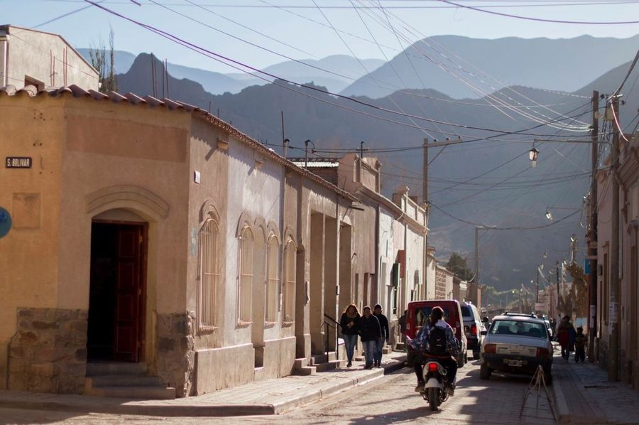 Jujuy, Argentina Outdoors Transportation Mountain Road Street Hello World Sunny Sunlight Purmamarca Building