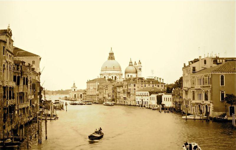 Gran canal. Venecia Gran Canal Building Exterior Built Structure Architecture Water Sky Nautical Vessel Transportation