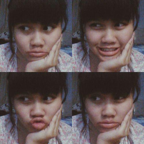 Girl Indonesian I WOKE UP LIKE THIS Asian  Selfportrait Selfie
