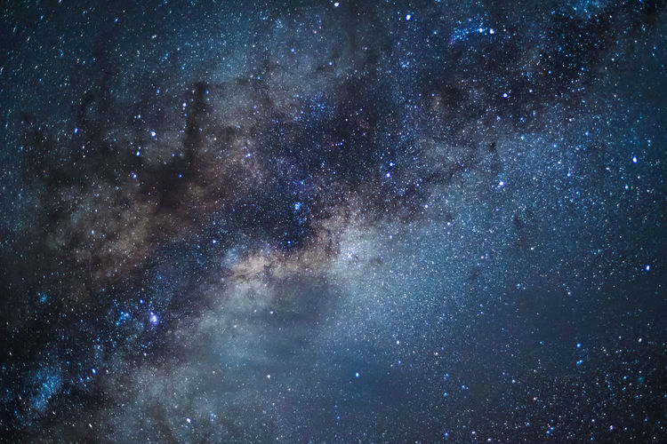 Milky Way Astronomy Backdrop Scenery Backgrounds Constellation Copy Space Full Frame Galaxy Milky Way Night Outdoors Sky Space Space And Astronomy Star - Space