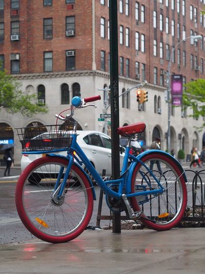 Bicycle Bicycles Bike Bikes Bikes Around The World Bikes Of New York Bikes Ofth City Mode Of Transport New York New York City Outdoors Rain Transportation