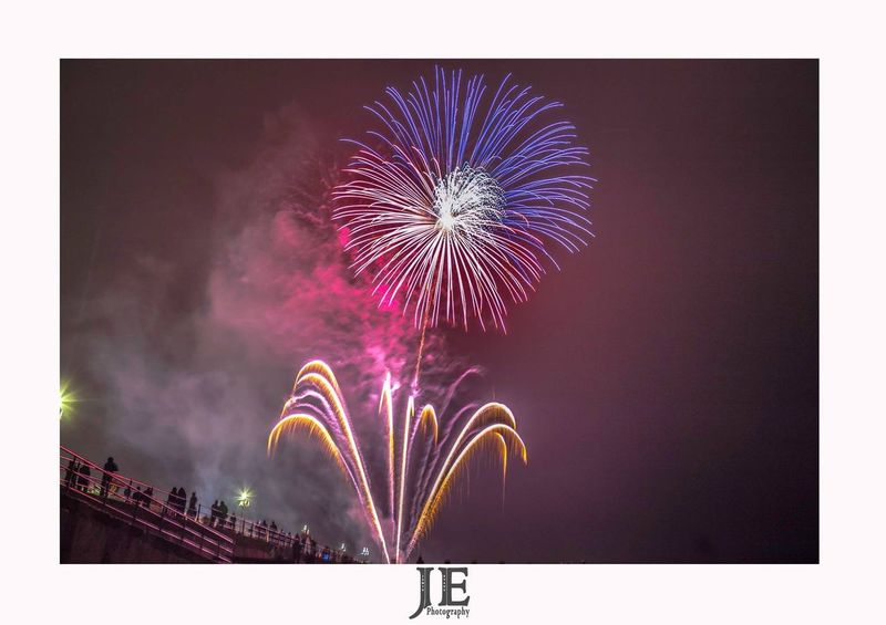 Firework Display Firework - Man Made Object Night Exploding Celebration Arts Culture And Entertainment Motion Long Exposure Low Angle View No People Firework Blurred Motion Event Multi Colored Illuminated Outdoors Sky