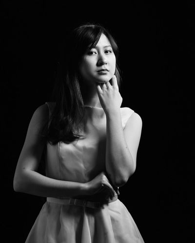 Do I have to know? Nikonindonesia Nikonphotography Black Background Studio Shot One Person Beauty Beautiful People Black Hair Adult People Portrait Young Adult Fashion Only Women Adults Only Beautiful Woman Standing One Woman Only One Young Woman Only Indoors  Day NikonAsia Iamnikon Nikontop Nikond3300 The Portraitist - 2018 EyeEm Awards The Fashion Photographer - 2018 EyeEm Awards