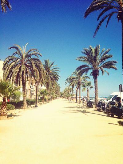 Urlaub Sommer Spanien