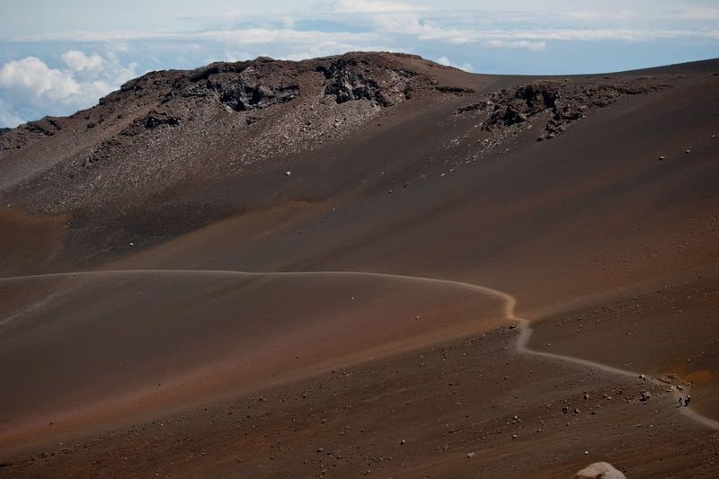 Desert Sky Arid Climate Sand Dune Remote Outdoors Nature Tranquility Beauty In Nature Scenics Landscape Tranquil Scene Cloud - Sky No People Day Hawaii Maui