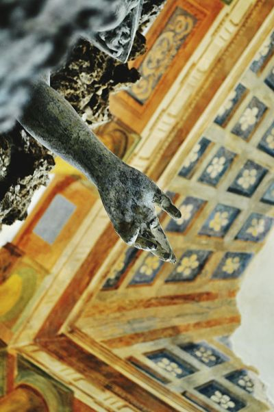 Expect your touch Art Culture Historical Building Old Architecture Statue Statueporn Villa Detail Hand Barocco Architecture Seeing The Sights Architecture & Statues Photography Taking Photos Point Of View