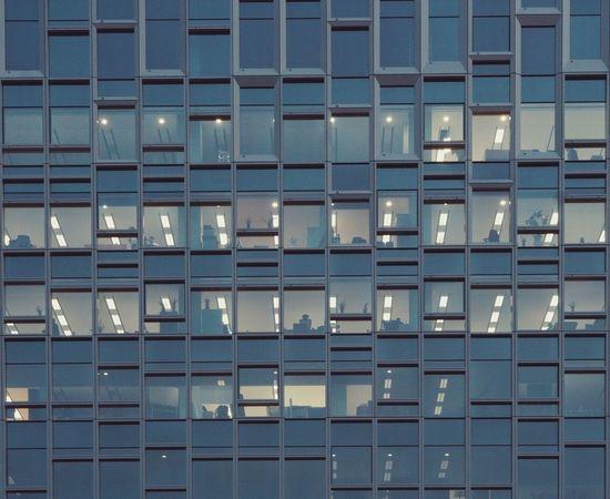 overtime Architecture Built Structure Building Exterior Window Seoul Seoul, Korea People Night Overtime Office