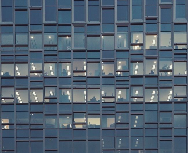 overtime Architecture Built Structure Building Exterior Window Seoul Seoul, Korea People Night Overtime Office
