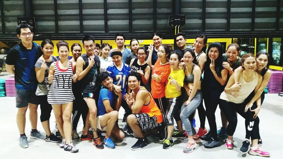 Zumba team @FitnessFactory Large Group Of People Sport People Adult Looking At Camera Gym Time GymLife Exercise Time Exercise For The Day... Bestronger Lifestyles GymTime Gymaddicted Gym Class Strongwomen Strongteam Gym Life Gym Gymaddicted Fitnessaddicted Fitnesstime Real People Indoors