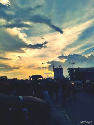 Sky Sky And City Sky Porn The Day Of GD's Concert