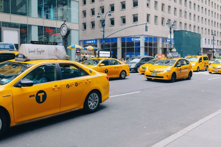 Neighborhood Map Yellow Taxi Taxi Car Architecture Transportation City Building Exterior Street Built Structure City Life Yellow City Street Day Outdoors Mode Of Transport No People