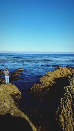 Gone fishing with my love Monterey Fishing Boyfriend❤ Love Beach Pacific Ocean Ocean View