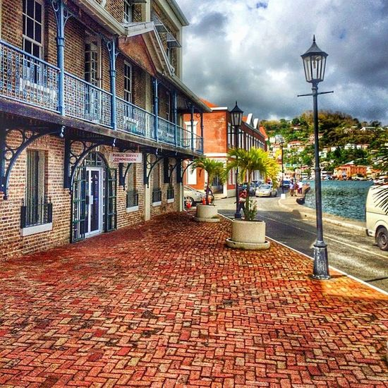 Ilivewhereyouvacation Grenada Ig_caribbean Wu_caribbean Hdriphonegraphy Hdrspotters Hdrmania Carenage Bricks Architecture Iphone5s