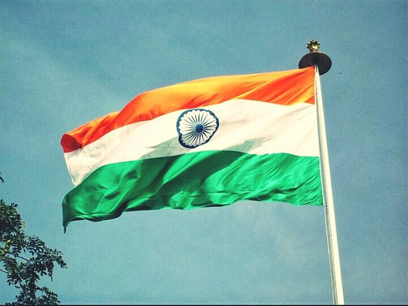 We shed many tears to get this land. Now filled it with smiles and happiness 68th Independence Day