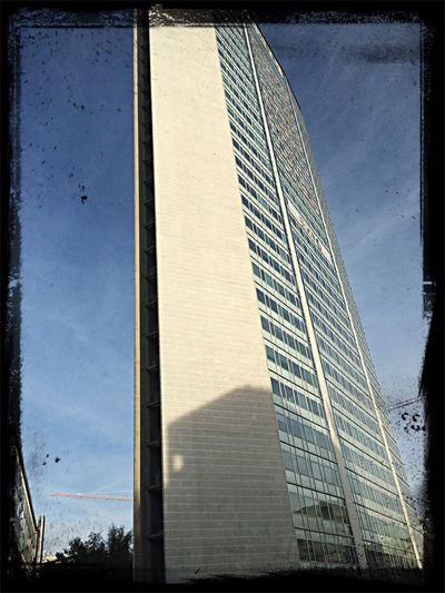 Prospettiva dalla camera 103 dell'Auriga hotel