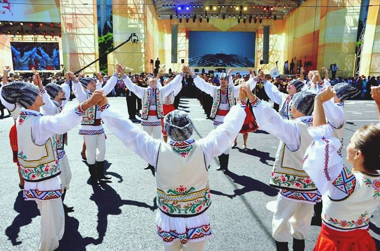 Independence Day Republic Of Moldova National Dance Hora