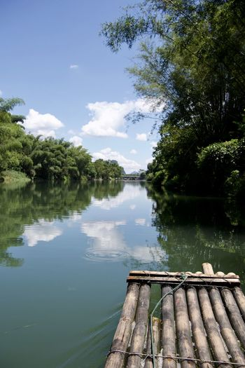 Banboo Raft