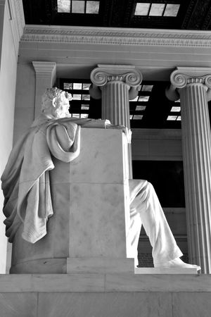 Abraham Lincoln Memorial Lincoln Memorial Lincoln Memorial, Washington DC Travel Travel Photography USA Washington DC Washington, D. C. Abraham Lincoln Black And White Close-up Human Representation Low Angle View No People Photographer Photography Sculpture Statue Travel Destinations