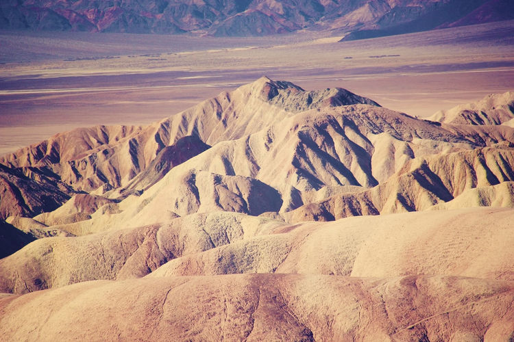 Death Valley Death Valley National Park Zabriskie Point Arid Climate Beauty In Nature Climate Desert Environment Eroded Extreme Terrain Geology Idyllic Land Landscape Mountain Mountain Range Nature No People Non-urban Scene Physical Geography Remote Scenics - Nature Tranquil Scene Tranquility Visual Creativity The Great Outdoors - 2018 EyeEm Awards