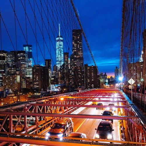 Brooklyn Bridge, NYC NYC Night Lights New York City Sony A7RII Kulnevsky Nightphotography