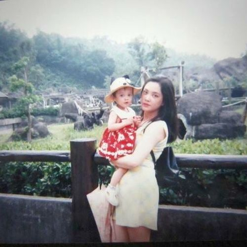 Women Who Inspire You my mom With My Mommy❤ Long Time Ago Taiwan Zoo Dear