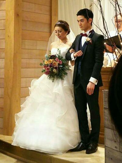 甥っ子 結婚式 Wedding Dress Bride Formalwear Heterosexual Couple Life Events Celebration Married