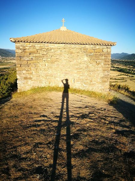 Ermita Church Pyrenees Shadow Meditation
