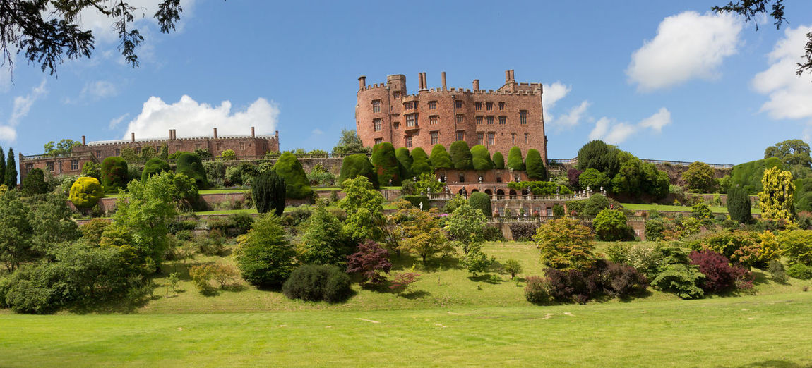 Building Exterior Architecture History Day Castle Old Outdoors Powys Castle