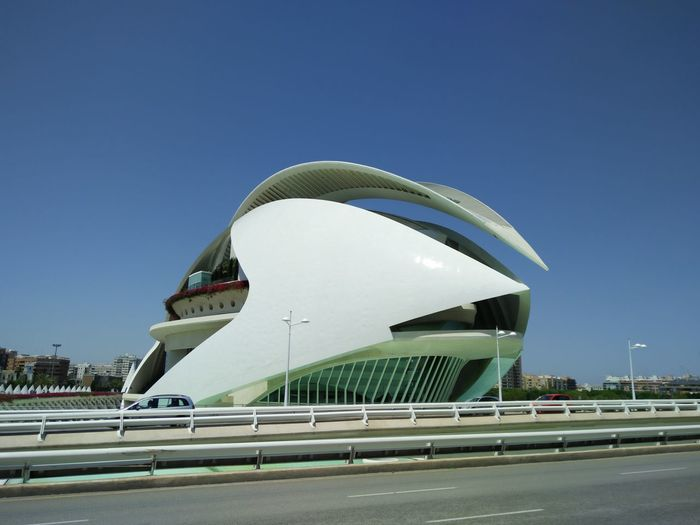 Theater in Valencia, Spain Aerospace Industry Alien Architecture, Architecture Arts Culture And Entertainment Building Feature Business Finance And Industry City Cityscape Clear Sky Day Modern No People Outdoors Sky Spain Travel Destinations, Theatre In Valencia, Travel Travel Destinations Valencia Travel, My Year My View My Unique Style Tourism Vacations Luxury