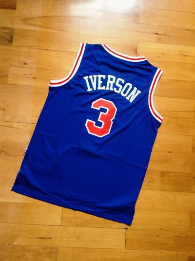 The best answer ~~~😜😉👍🏻 Sport Basketball Ai Love ♥ Star Swingman Jersey NBA Answer Original Experiences Three