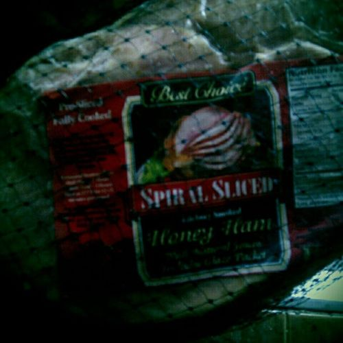 6.5 lbs. Spiral Sliced Honey Ham. Bestchoice