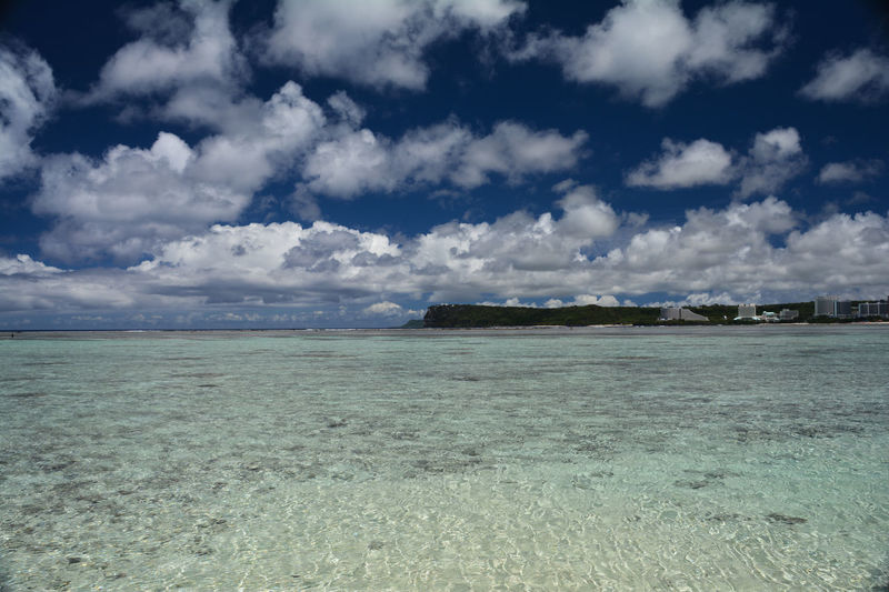 Northern Mariana Islands Northern Marianas Islands Beauty In Nature Cloud - Sky Day Environment Guam Horizon Land Landscape Nature No People Non-urban Scene Outdoors Scenics - Nature Sea Sky Tranquil Scene Tranquility Water Waterfront
