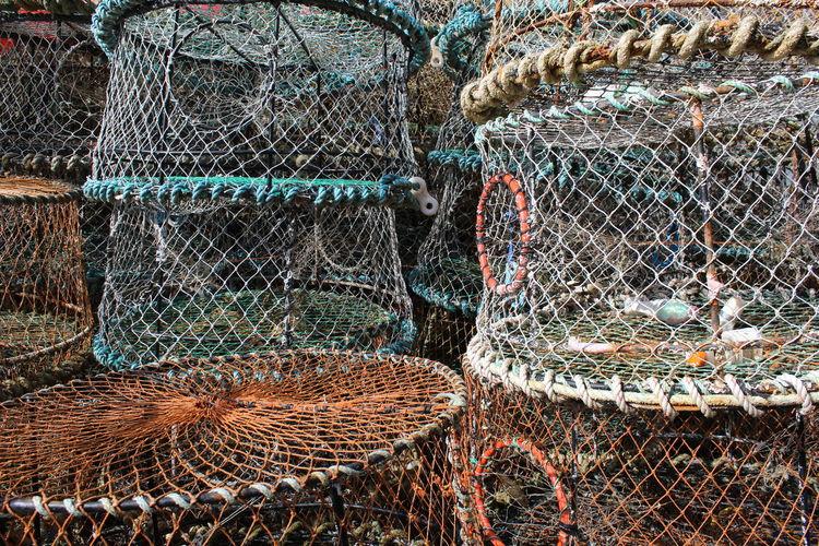 View of fishing net