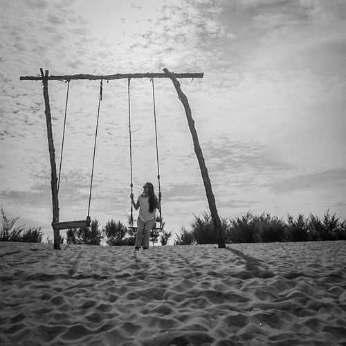 EyeEmNewHere alone Child Boys Two People Water Playing Outdoors Children Only Childhood People Beach Adult Togetherness Sky Day