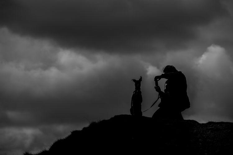 British Camp, Malvern. Silhouette Sky Outdoors Blackandwhite Black & White Monochrome British Camp Malvern Worcestershire Landscape Dramatic Sky Silhouette Nikonphotographer Nikon Cloud - Sky