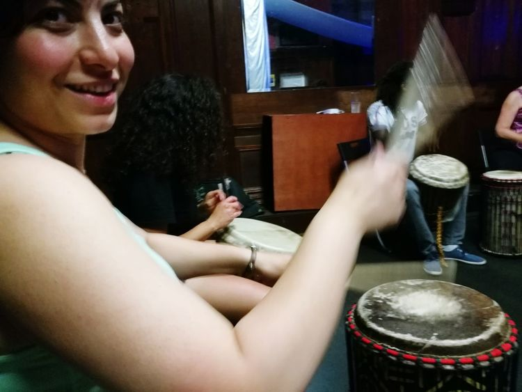Drum session Afticartsdrumming Afrotribe Sharinglove